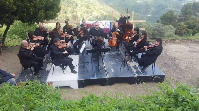 A Soldano un concerto in vigna