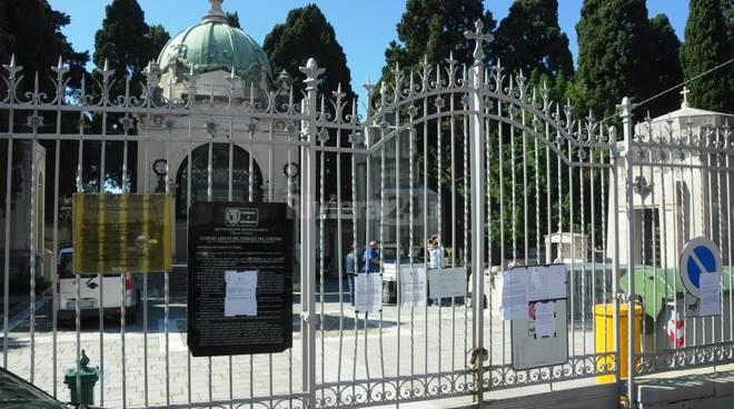 Cimitero Monumentale della Foce, ingresso chiuso
