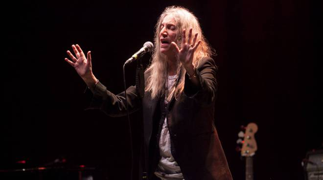 Concerto Patti Smith all'Aristo, foto Jacopo Gugliotta