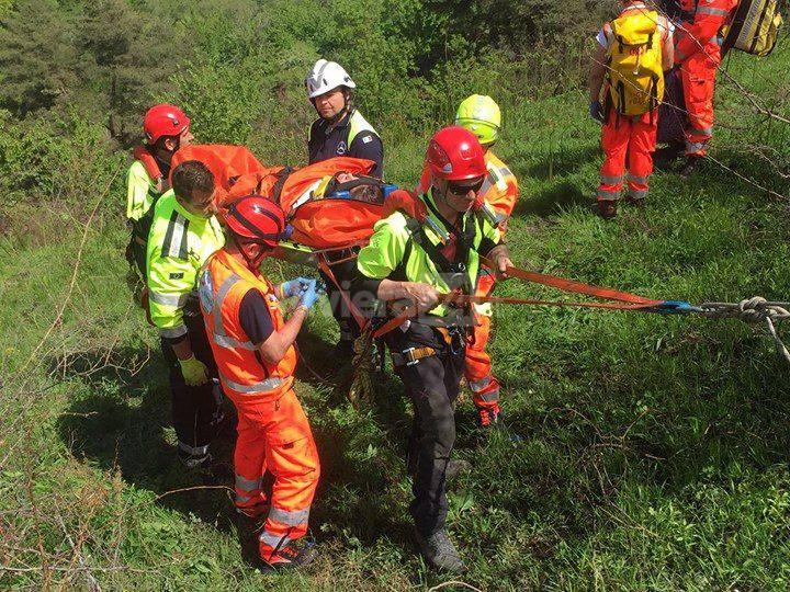 esercitazione cian zerbo protezione civile vigili del fuoco