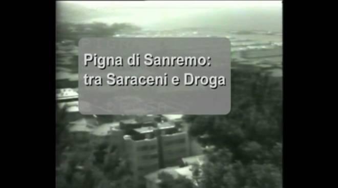 Titolo di testa filmato storico sulla Pigna Sanremo