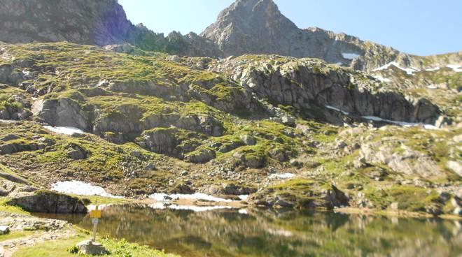 laghi degli Alberg e del Frisson