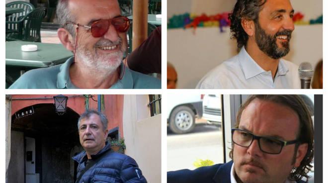 quattro candidati taggia collage