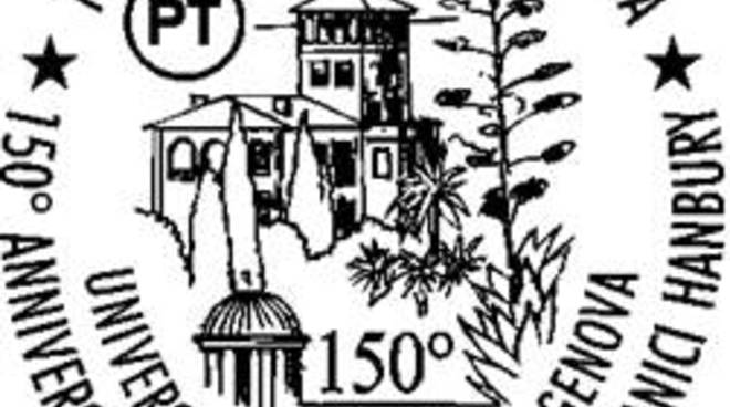 riviera24 - Annullo filatelico di 150° anniversario della Fondazione dei Giardini Botanici