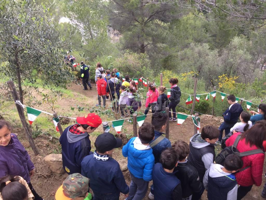 Riviera24 - festa degli alberi 2017 alunni Ventimiglia