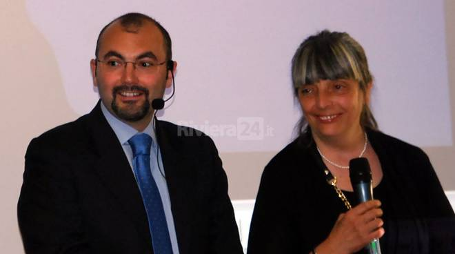 riviera24 - , i genitori di Tiziano Chierotti al Festival della Salute
