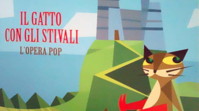 """riviera24 - """"Il gatto con gli stivali (Opera Pop)"""""""