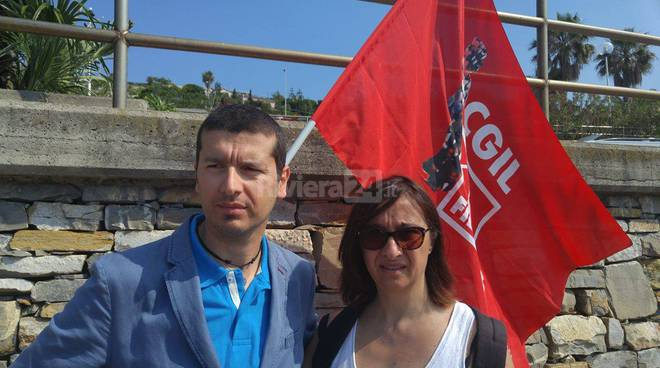 riviera24 - Manifestazione anti cozzi-parodi della Cgil