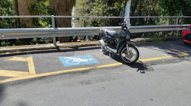Sanremo nuova frontiera del parcheggio creativo scooter for Kit per posto auto coperto