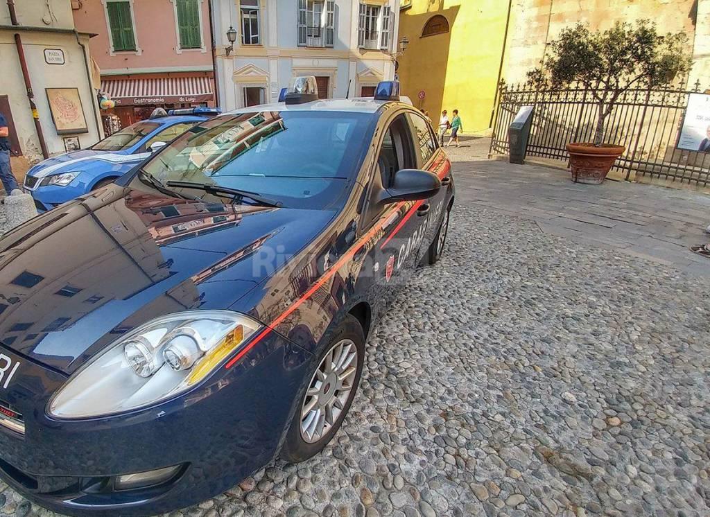 riviera24 - polizia carabinieri piazza san siro sanremo