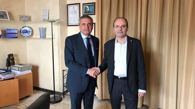riviera24 - questore Capocasa incontra il sindaco Capacci