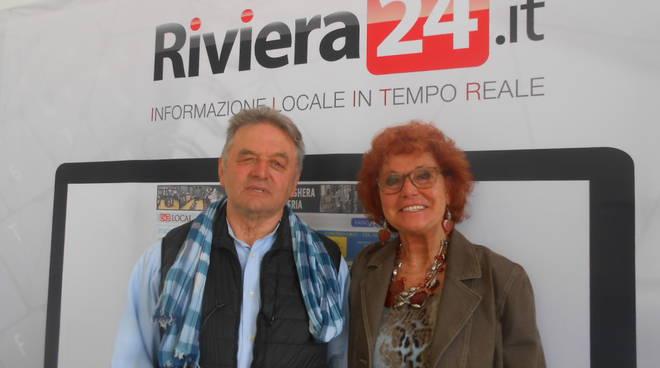 Riviera24 - Renzo Pighi e Marisa Cimiotti Saponaro Avo Sanremo