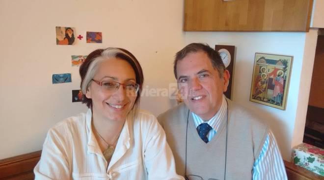 Riviera24 - Silvia Minasi e Franco Zanoni Forum Ligure delle Associazioni familiari