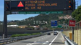 riviera24 - Tutor in autostrada