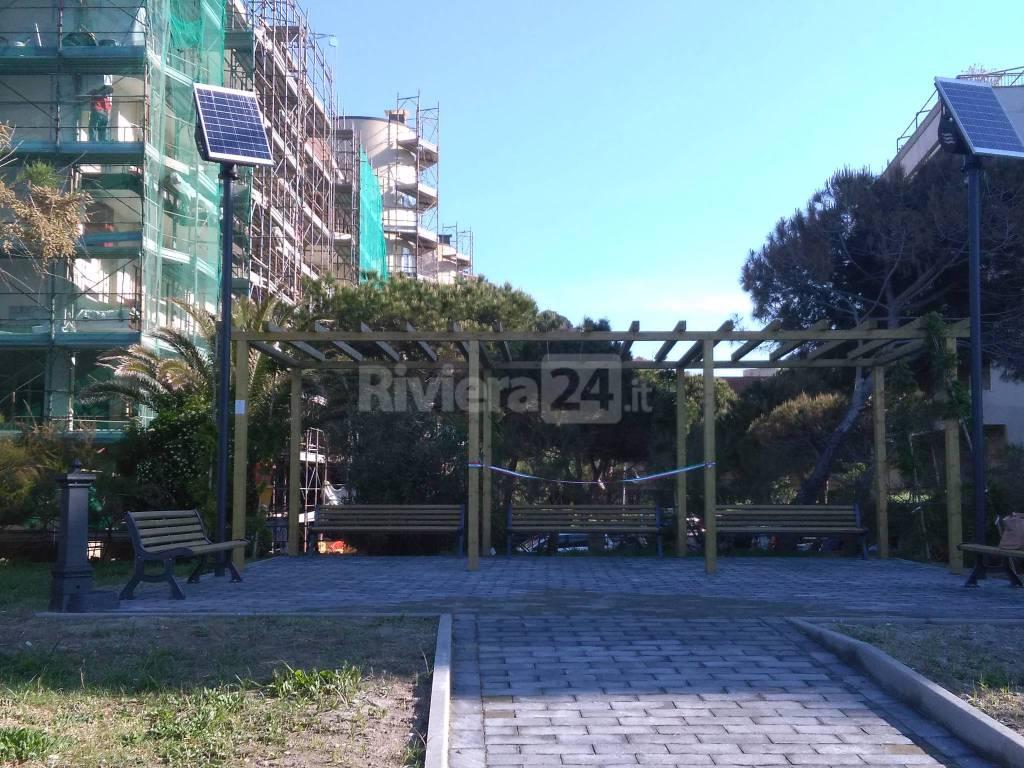 riviera24 - Ventimiglia, spazio aggregativo all'aperto