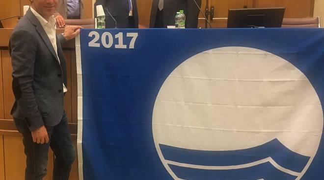 Roberto Orengo, Taggia Bandiera Blu 2017