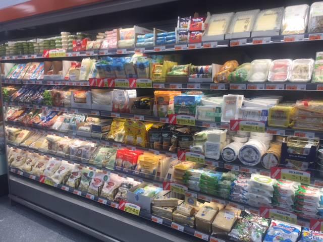 Supermercato Ekom in corso Genova a Ventimiglia
