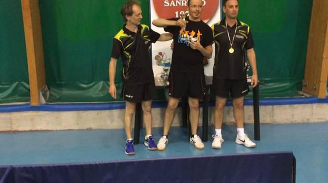 Tennistavolo, campionato regionale veterani