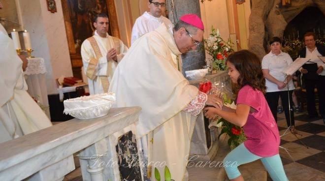 Chiusavecchia, 380° anniversario della Chiesa di San Vincenzo Martire a Sarola