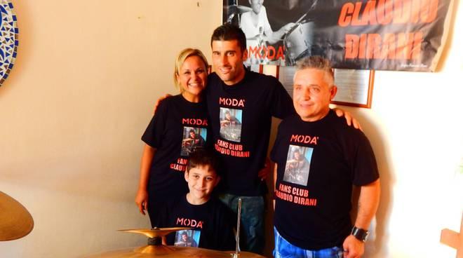 Imperia, Claudio Dirani con il fan Mattia Callari