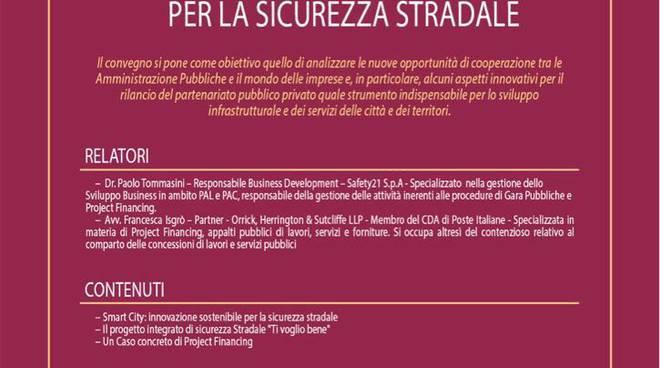 "Locandina convegno ""Smart city"" Leonardo da Vinci"