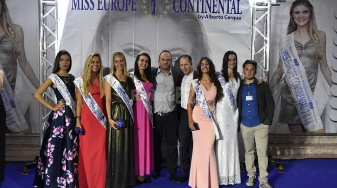Prima selezione Bordighera Miss Europe Continental