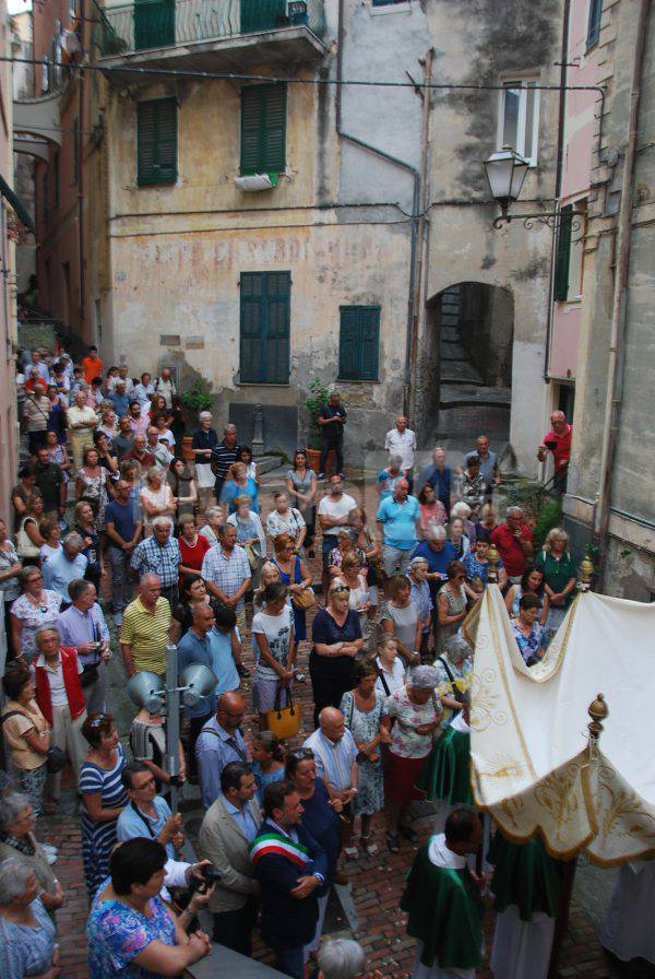Processione Corpus Domini a Bordighera