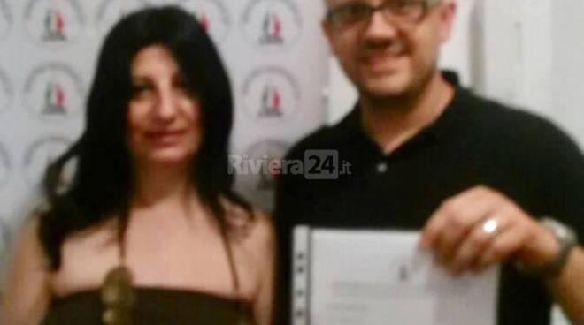 Riviera24 - Alessandro Condò e Maria Antonietta Cannizzaro