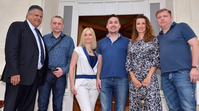 riviera24 - delegazione russa al casinò giugno 6 2017