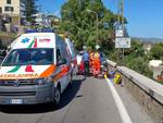 riviera24 - incidente scooter suv arma di taggia giugno 29 2017
