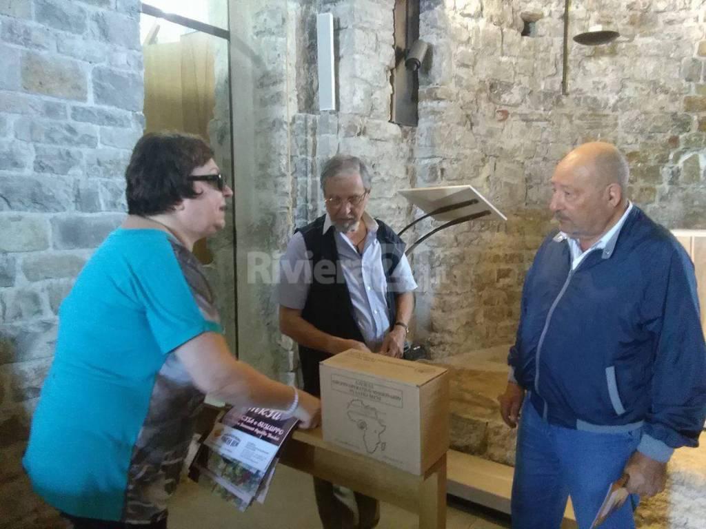 riviera24-  Mara Cassano, Pino Lupo e Franco Zoccoli