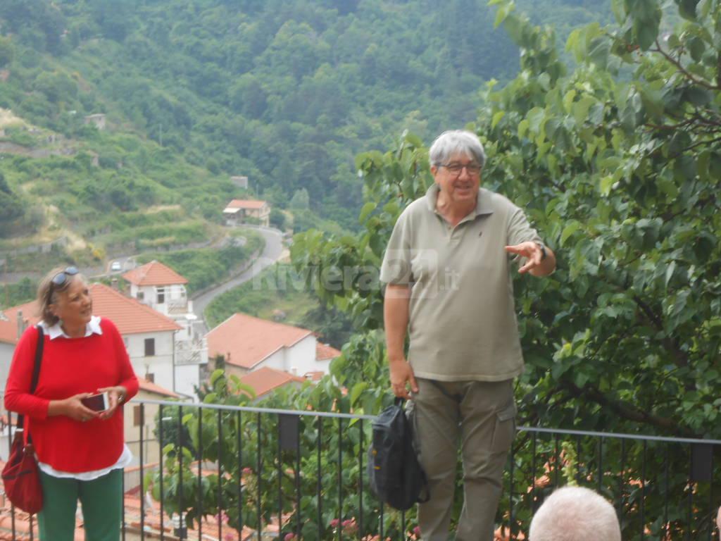 Riviera24 - Mauro Laura cultural tour Bajardo 18 giugno 2017