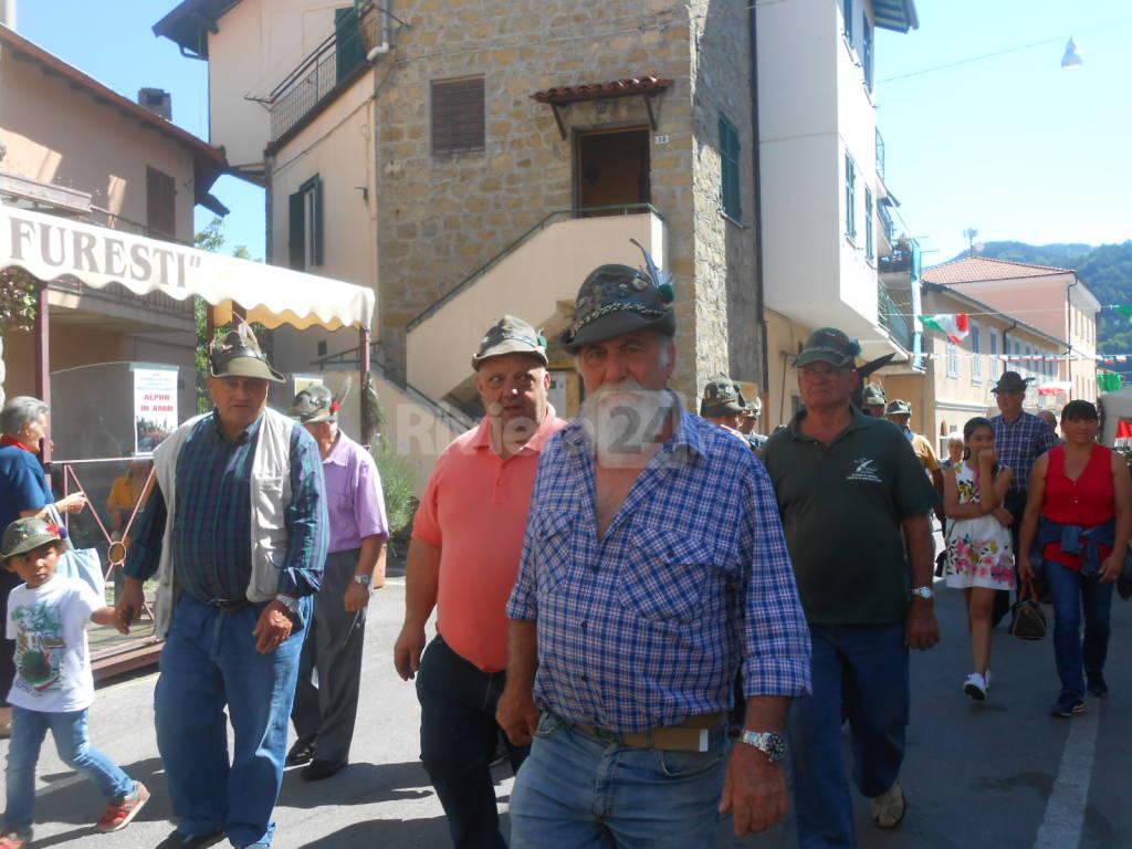 Riviera24 - raduno alpini Bajardo 11 giugno 2017