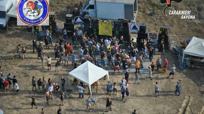 riviera24 - rave party carabinieri