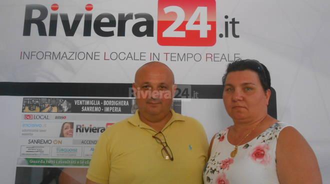 Riviera24 - Roberto Arrighini e Katia Loda Adesso Basta onlus