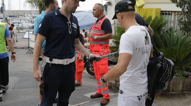 Sanremo, forze dell'ordine per il concertone pro Amatrice