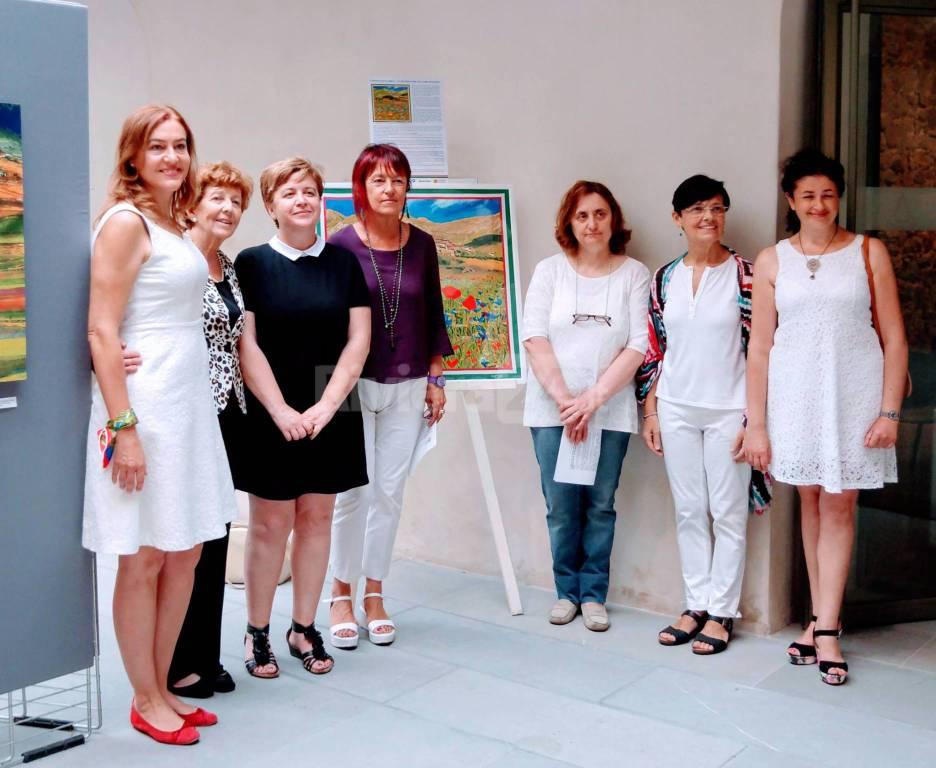 Sanremo, inaugurazione mostra itinerante per Castelluccio di Norcia