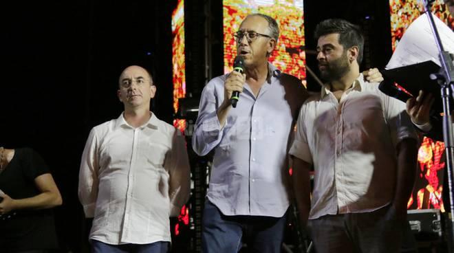 Stefano Petrucci, Alberto Biancheri, Andrea Paci