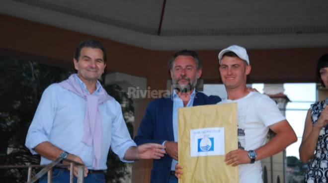 Bordighera consegna bandiera blu 2017