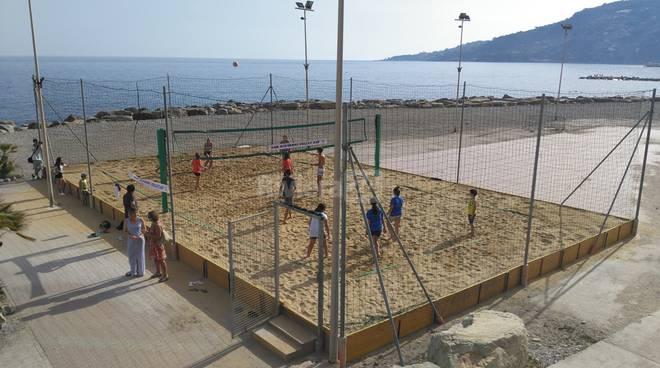 Campo da beach volley Ospedaletti