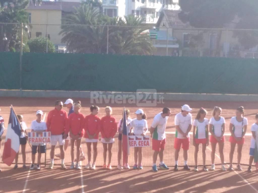 European Summer Cup 2017 di tennis, la cerimonia d'apertura