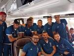 juventus in volo USA