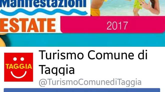 pagina facebook turismo taggia
