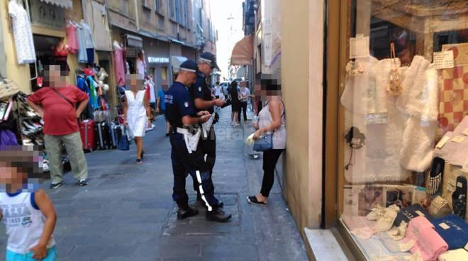 polizia municipale questuanti