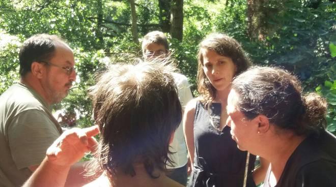 riviera24 - Alice Salvatore visita a Pigna