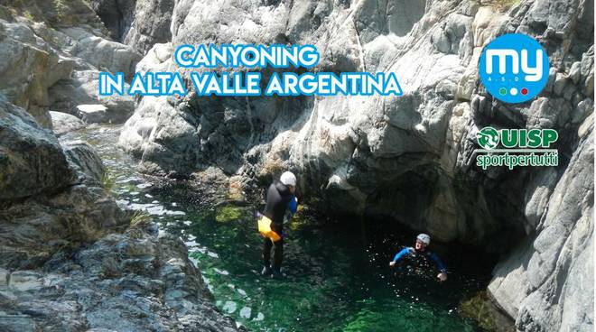 riviera24 - Canyoning in alta Valle Argentina