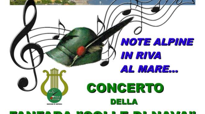 """riviera24 -Concerto """"Note alpine in riva al mare"""""""