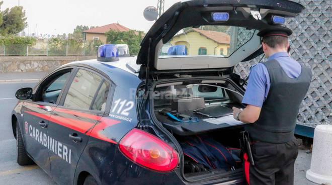 Riviera24-contrilli carabinieri