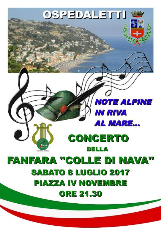 """riviera24 - Fanfara Sezionale Alpina """"Colle di Nava"""""""