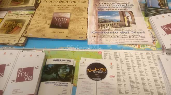 riviera24 - Infopoint turistico a Ventimiglia